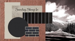 """Sunday Sleep In""--"